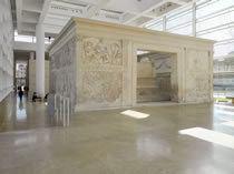 Museo dell'Ara Pacis, Rome, Photographie, mars 2013
